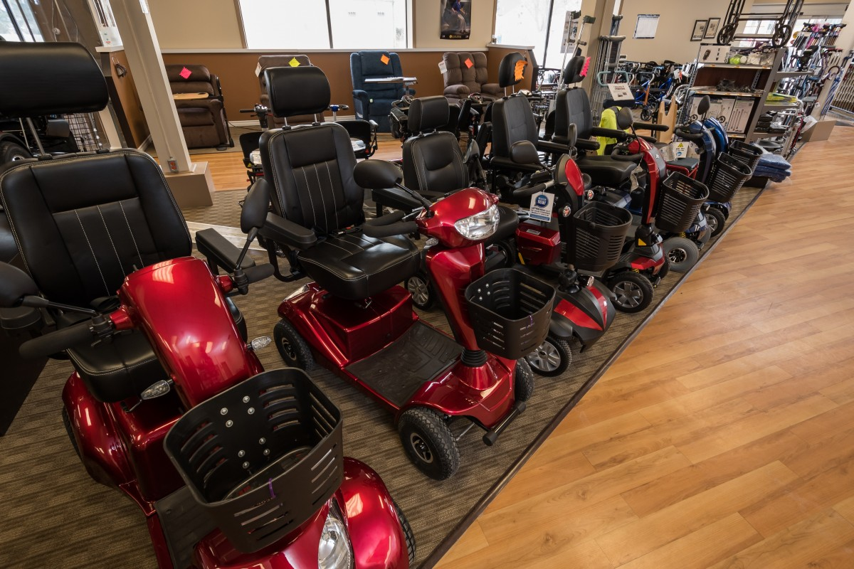 Top 4 popular scooters at Mobility1st