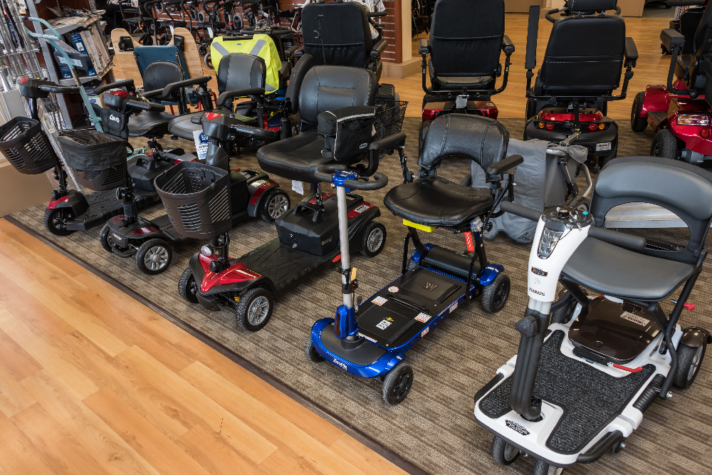 Mobility1st Showroom Image