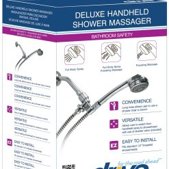 Deluxe Handheld Shower Massager with Three Massaging Options 3