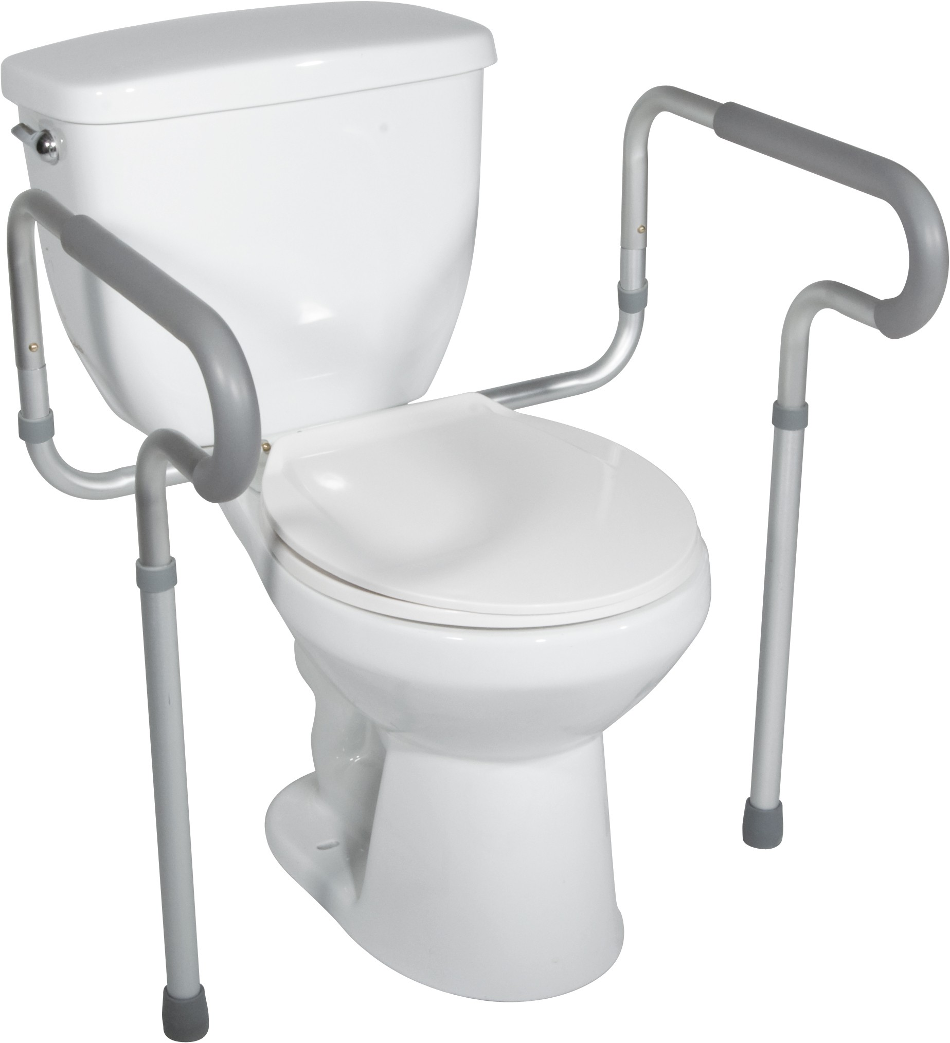 Toilet Safety Frame With Padded Arms Mobility1st London Ontario