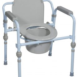 Folding Steel Commode, Retail RTL11148KDR_9