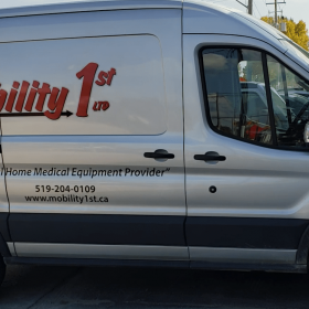 Mobility First Van