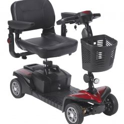 Red Spitfire DTS (4 Wheel) Mobility Scooter