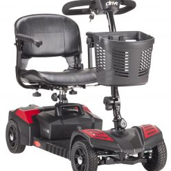 Red Spitfire Scout (4 Wheel) Mobility Scooter